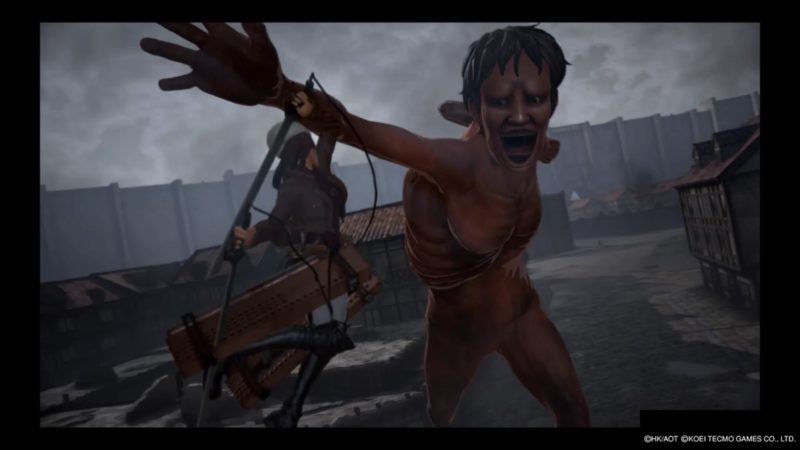 Attack on Titan 2 attaque sur Titan