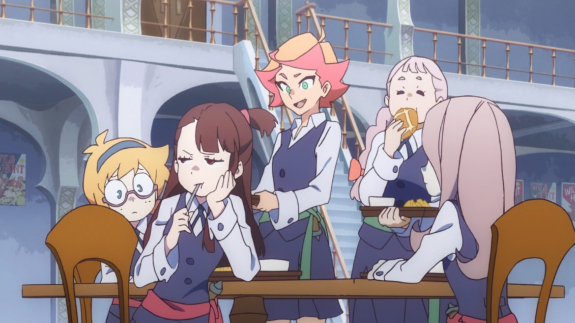 Little Witch Academia: Chamber of Time anime