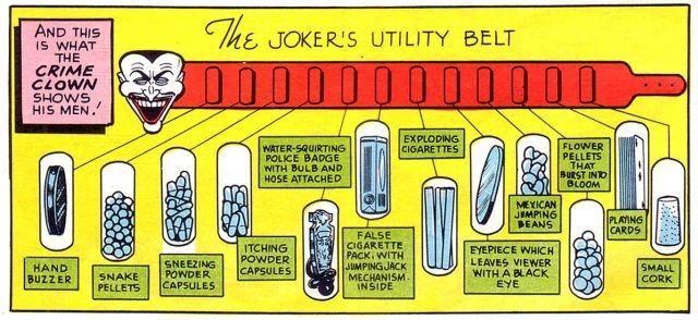 Batman: the Enemy Within - Joker ceinture gadgets