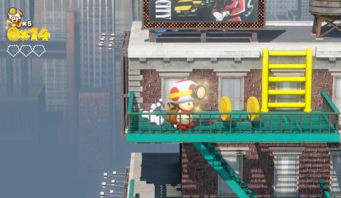 Captain Toad: Treasure Tracker - Aventure à New Donk City