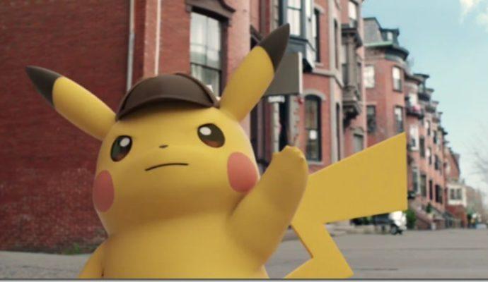 Détective Pikachu – Pikachu imite un personnage historique