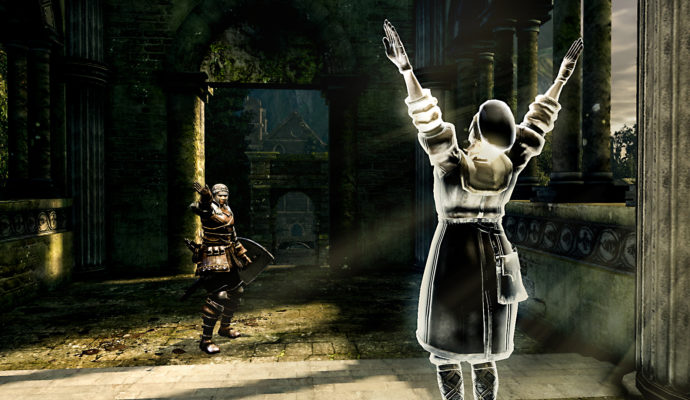Dark Souls Remastered praise the sun