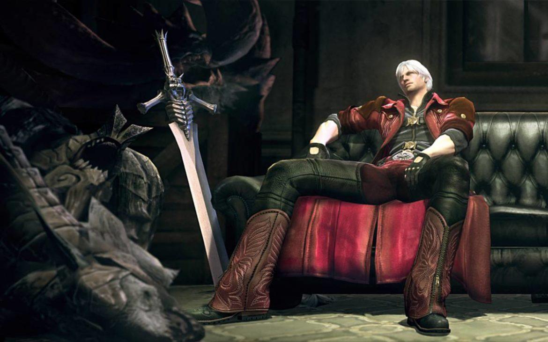 Devil May Cry HD Collection Dante fauteuil épée