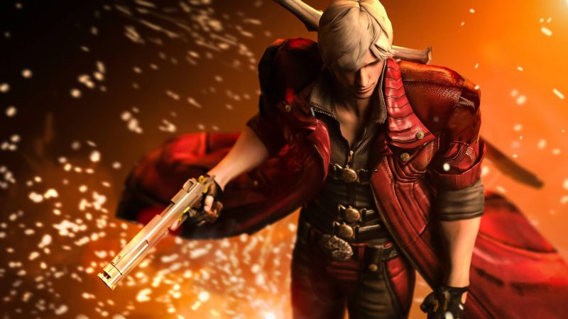 Devil May Cry HD Collection Dante explosion