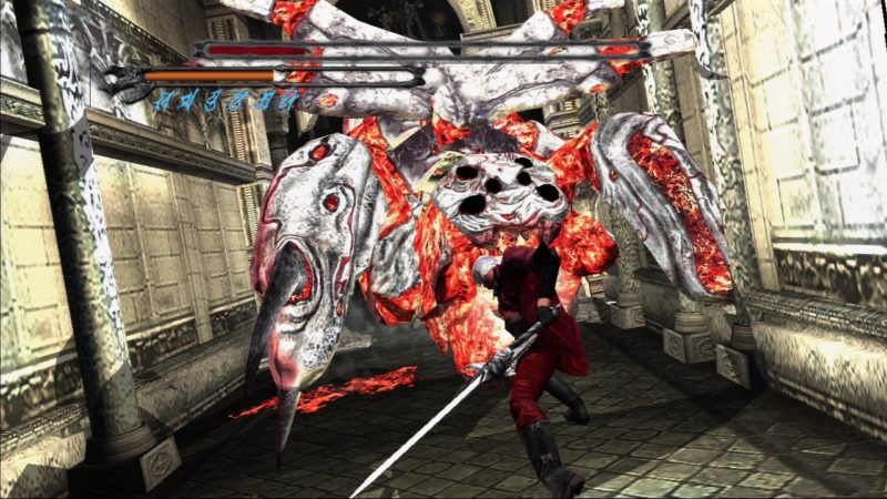 Devil May Cry HD Collection Dante boss