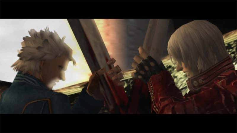 Devil May Cry HD Collection Vergil Dante