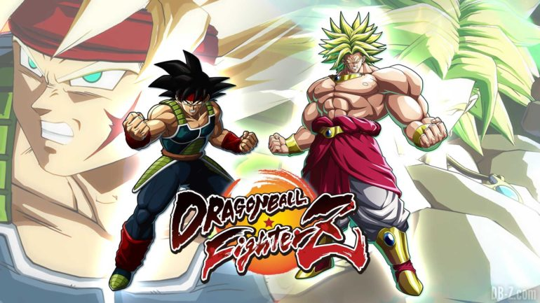 Dragon Ball FighterZ Broly et Bardock