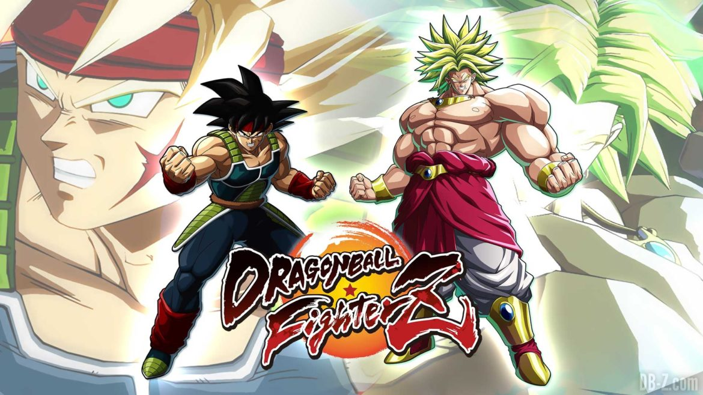 Dragon Ball FighterZ Broly et Bardock