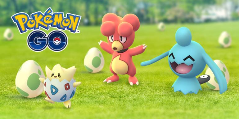 Un event avec une plus grande variété — Pokémon GO