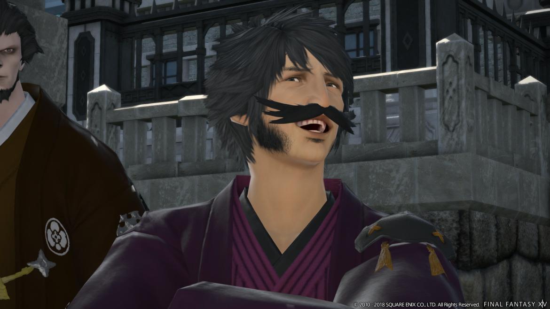 Final Fantasy XIV Stormblood - moustachu