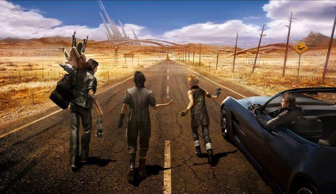 Final Fantasy XV – Les quatre héros en marche