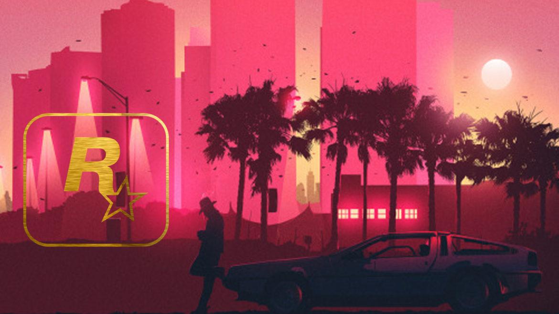 Grand Theft Auto VI - image stylée et sans rapport
