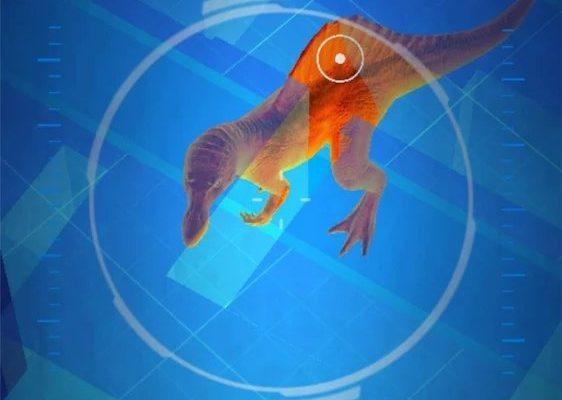 Jurassic World Alive - Spinosaure en promenade