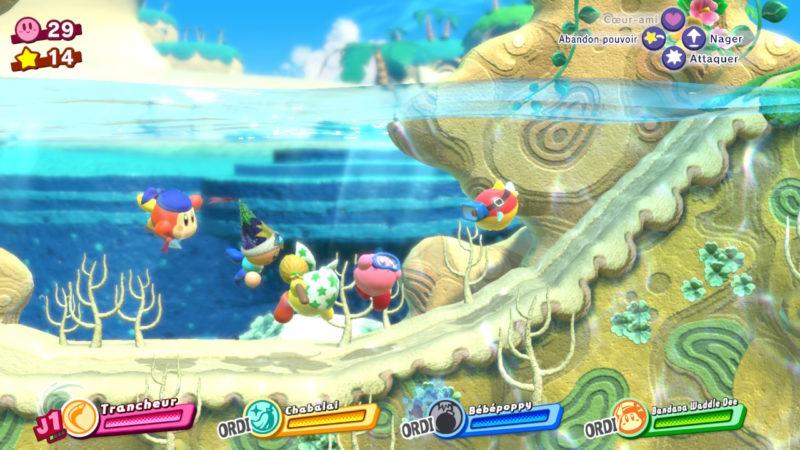 Kirby Star Allies - A pays de l'eau