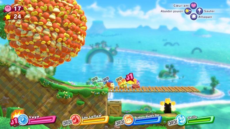 Kirby Star Allies - Boule de Waddle Dee