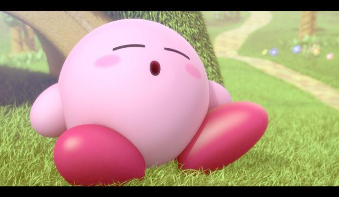 Kirby Star Allies - Kirby dort à Dream Land
