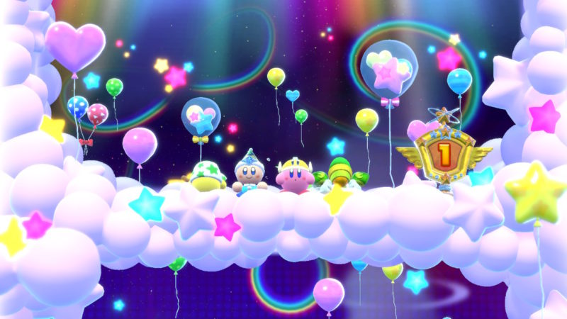 Kirby Star Allies - Sur le podium