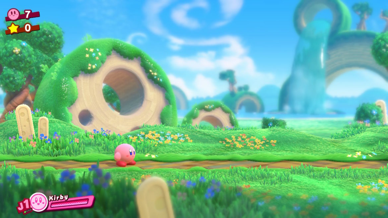 Kirby Star Allies - Green Greens