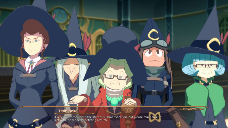 Little Witch Academia: Chamber of Time cinématique