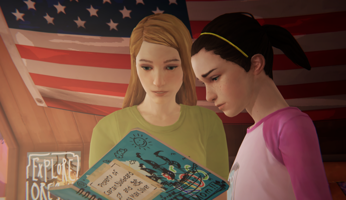 Life is Strange: Before the Storm Max et Chloe