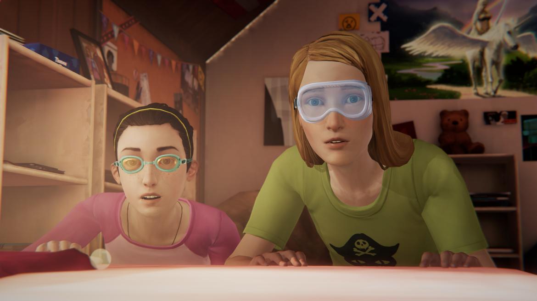 Life is Strange: Before the Storm Max et Chloe look de feu
