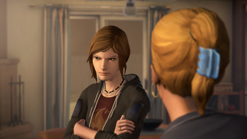 Life is Strange Before the Storm Chloe qui croise les bras