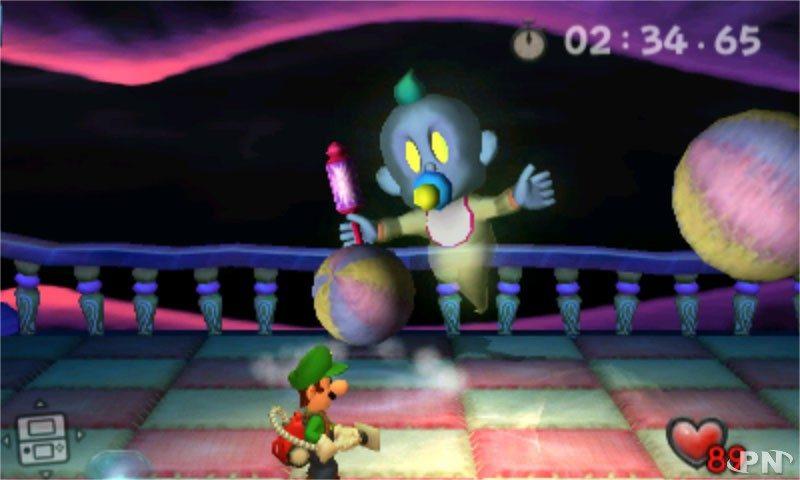 Luigi's Mansion - Bébé fantôme