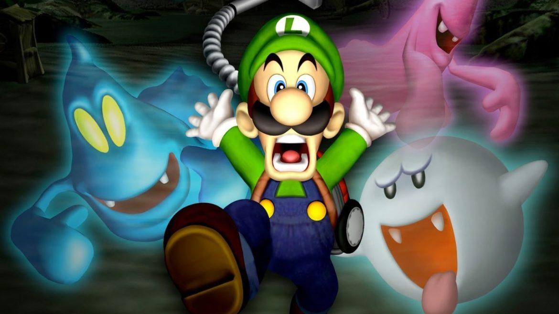 Luigi's Mansion - Ecran de présentation