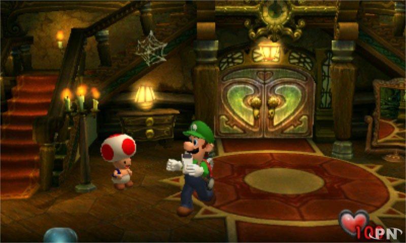 Luigi's Mansion - Promenade au manoir