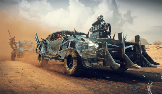 PlayStation Plus Mad Max