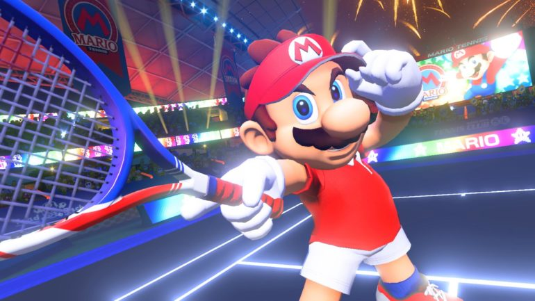 Mario Tennis Aces - on troque la salopette