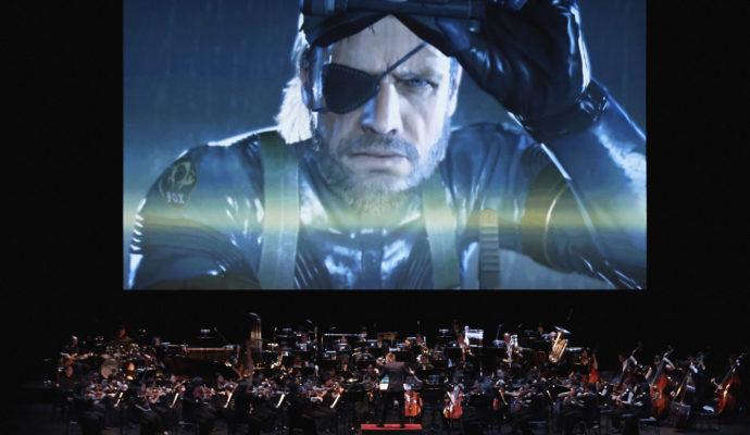 Metal Gear concert photo