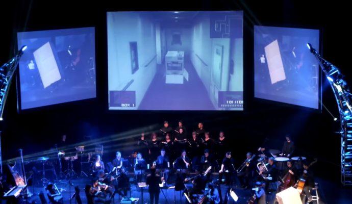 Metal Gear photo concert