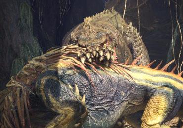 Monster Hunter World - Devil Jho casse la croûte