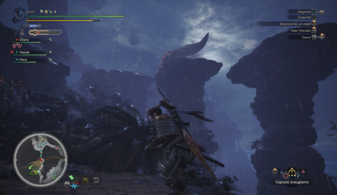 Monster Hunte:r World Deviljho équilibriste