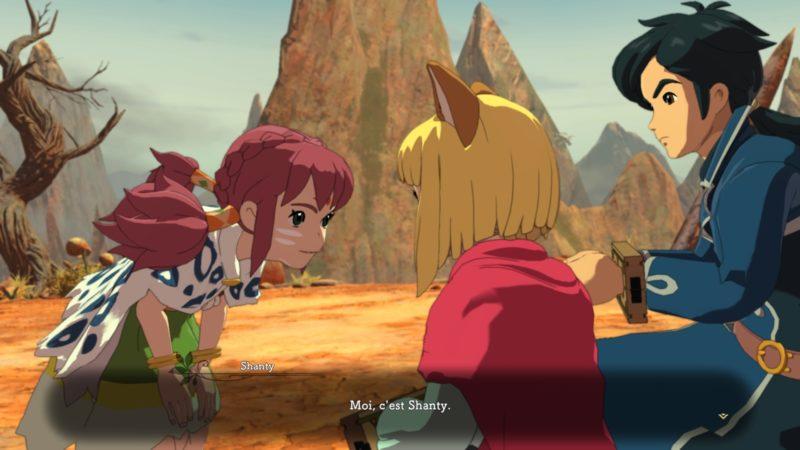 Ni no Kuni 2: l'Avènement d'un Nouveau Royaume Evan et Shanty