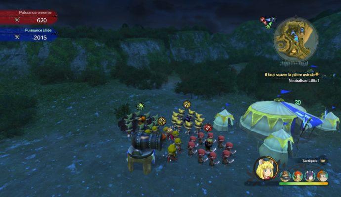Ni no Kuni 2: l'Avènement d'un Nouveau Royaume bataille