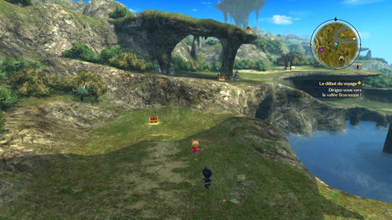 Ni no Kuni 2: l'Avènement d'un Nouveau Royaume world map