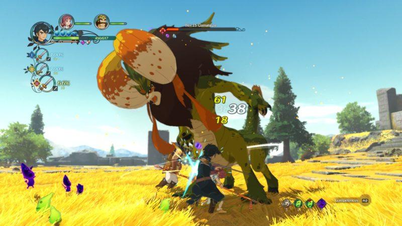 Ni no Kuni 2: l'Avènement d'un Nouveau Royaume combat