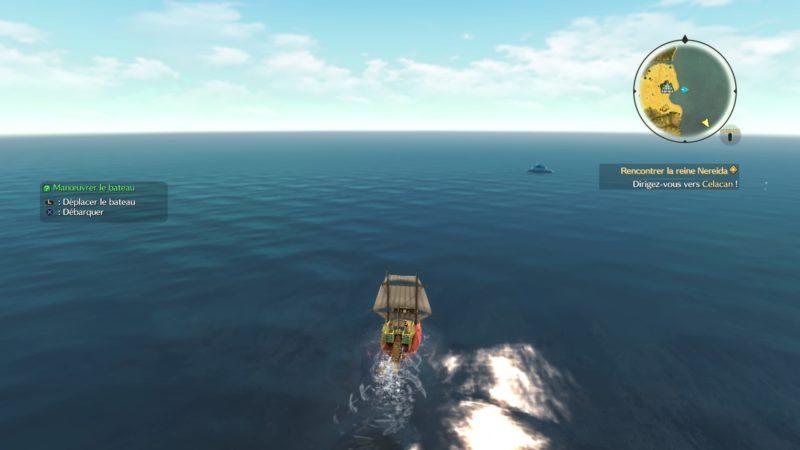 Ni no Kuni 2: l'Avènement d'un Nouveau Royaume bateau