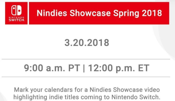 annonce nindies showcase