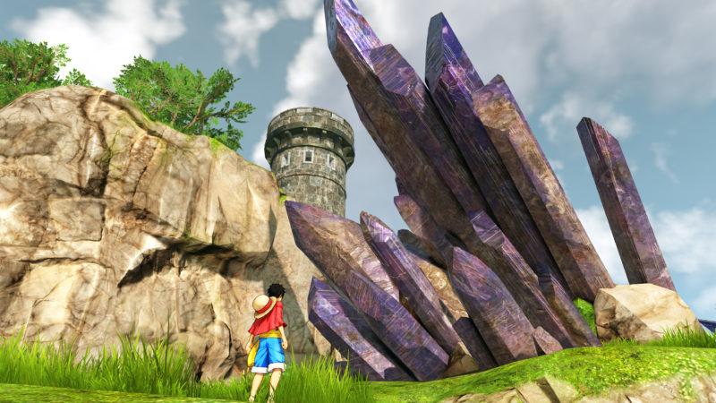 One Piece World Seeker décor