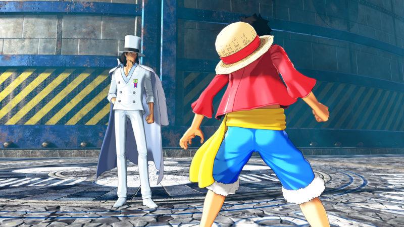One Piece World Seeker Rob Lucci