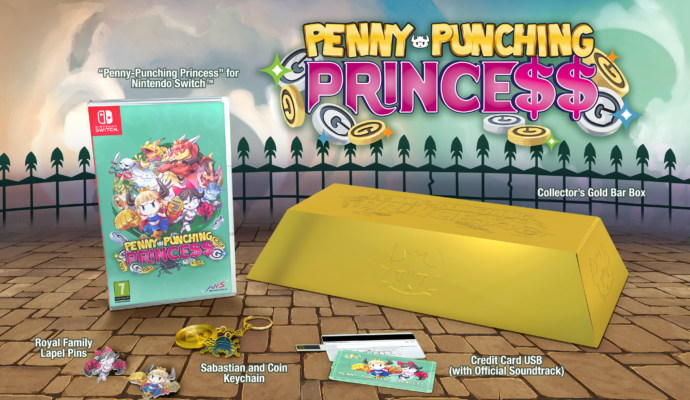 Penny-Punching Princess - Collector Edition