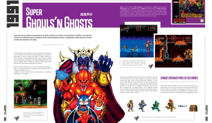 Pix'n Love L'Histoire de Capcom 1983 1993 - Ghouls n ghosts