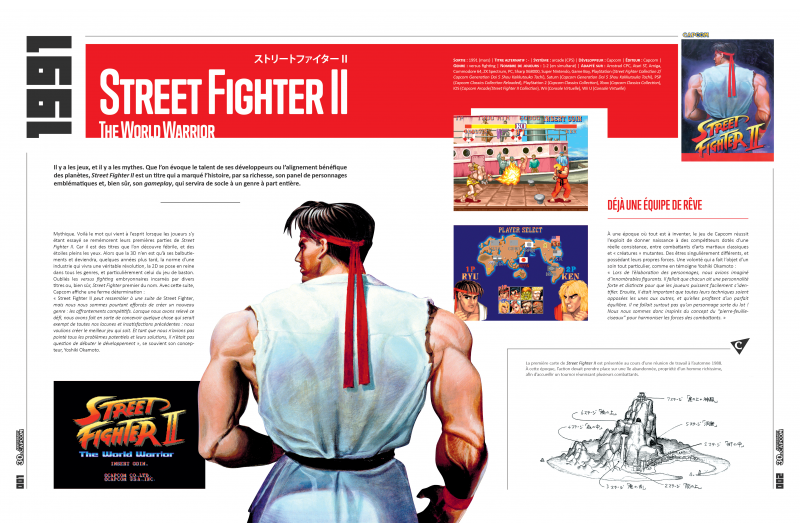 Pix'n Love L'Histoire de Capcom 1983 1993 - Street fighter