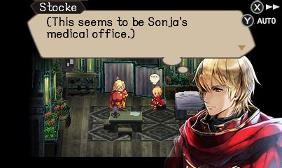 Radiant Historia: Perfect Chronology Stocke parle