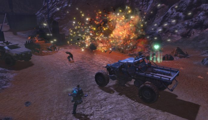 Red Faction Guerilla Re-Mars-tered screenshot