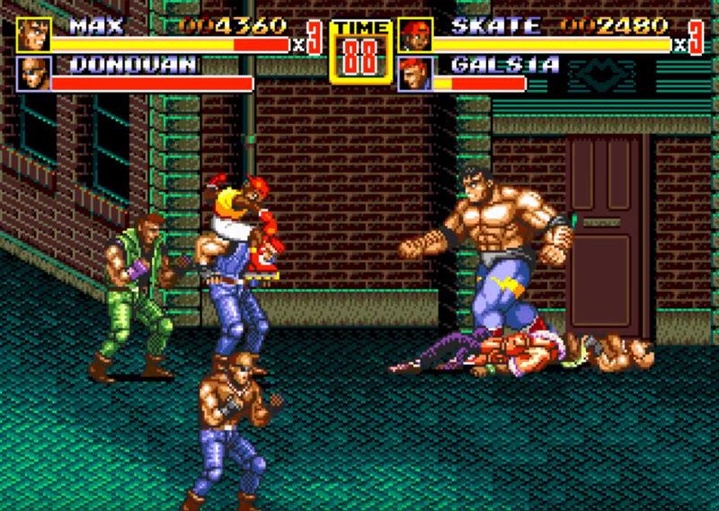 SEGA Mega Drive Classics Streets of Rage 2
