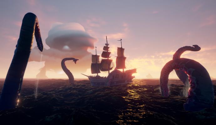 Sea of Thieves Le Kraken